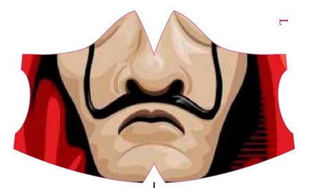 Immagine di mascherina dalì